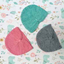 New turban-style baby hats in-store