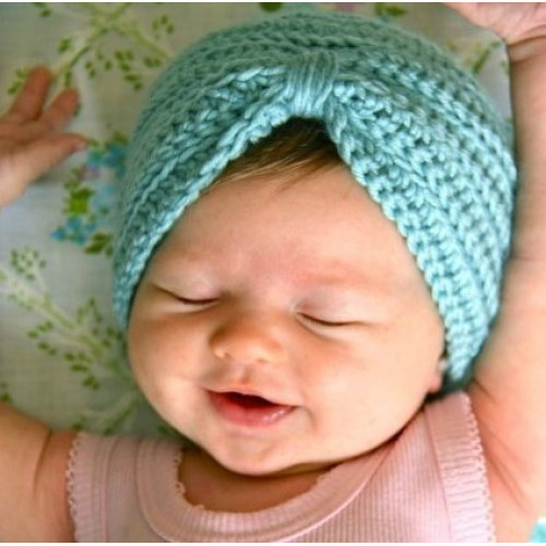 Crochet Baby Turban Hats - Unique Gifts from Friday s Child 0e3648cc4f3