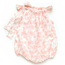 Vintage-style baby rompers